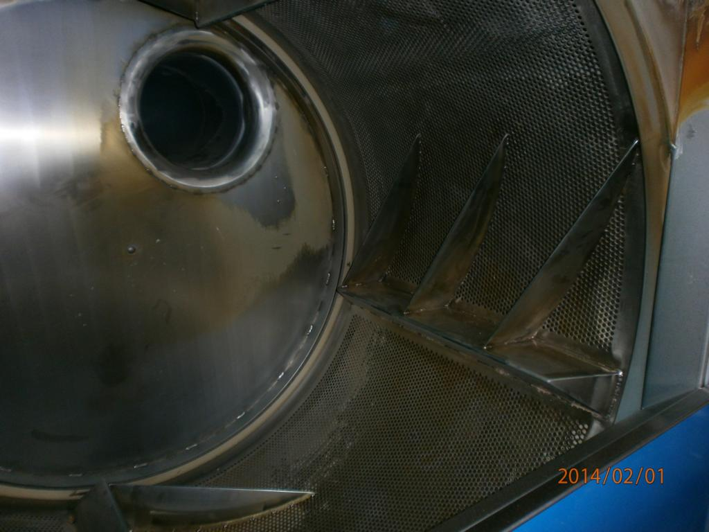 Trockeneisreinigung trommel industriewäschetrockner
